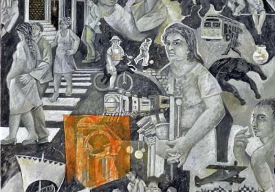 Mια θαυμάσια συνεργασία του ΤΕΙ Κατερίνης με την αίθουσα τέχνης «Χρύσα»