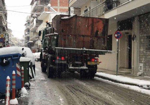 Κλειστά λόγω παγετού όλα τα σχολεία στην Πιερία