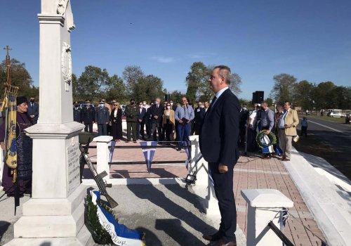 Εκδήλωση μνήμης στο μνημείο του συνταγματάρχη Σβορώνου