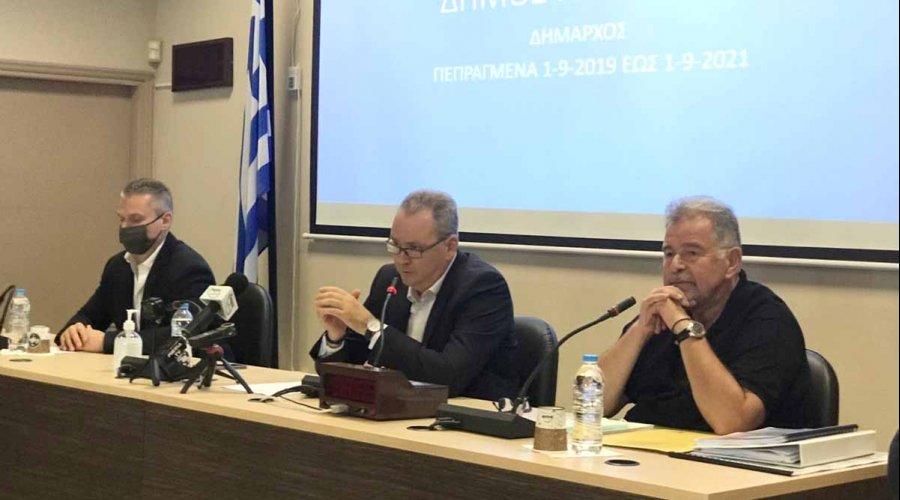 Απολογισμός διετίας έργων και παρεμβάσεων για το Δήμο Κατερίνης